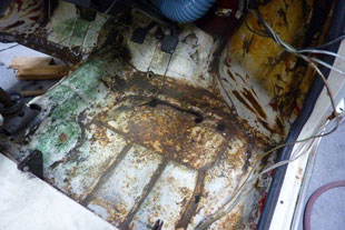 Restoration -- Replacing Floor Pans