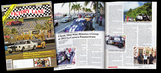 Victory Lane Magazine - January 2013