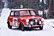 The front-wheel drive Mini excelled in the icy mountain stages
